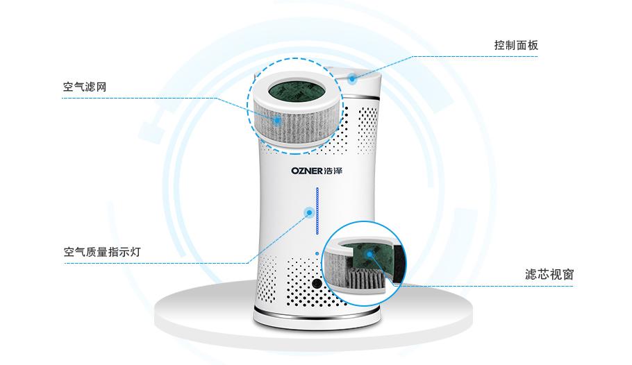 空气净化器产品细节